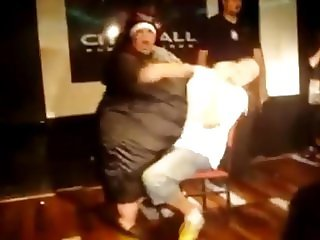 SSBBW granny nun stripper!
