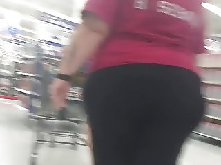 Thick White jiggly pear leggings