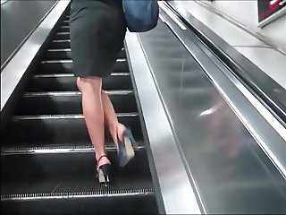 Beautiful Mistress Walking In Tube