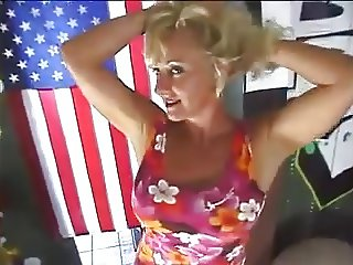 Hot milf picked from store