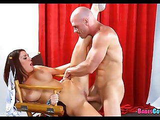 Hot Brunette loves His Long Cock