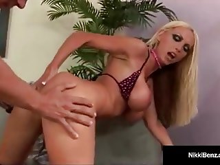 Penthouse Pet Nikki Benz Has Racoon Eyes As She Gets Fucked!