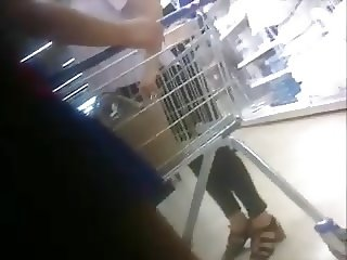 Short skirt in Tesco