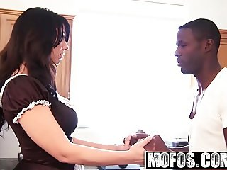 Mofos - Milfs Like It Black - Big Ass Maid starring  Madison