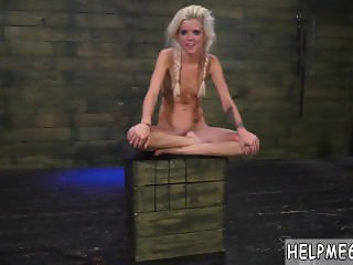 Bdsm flogging Halle Von is in town on