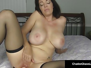 Kentucky Bred Charlee Chase Rubs Her Clit & Plugs Her Ass!