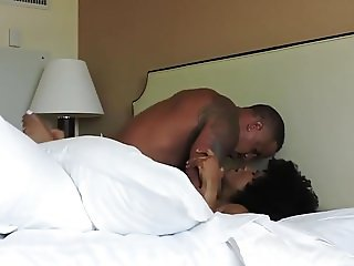 Ebony Couple Making Love