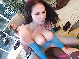 Gianna & friend devour this BBC