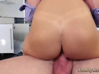 Dad fucks his friend's daughter from behind