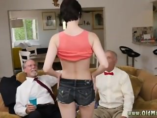 Slim mature anal Frannkie goes and munches