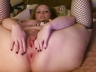 Cute chubby girl double masturbation