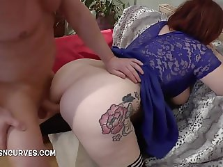 Sweet Babe takes a big cock and loves it