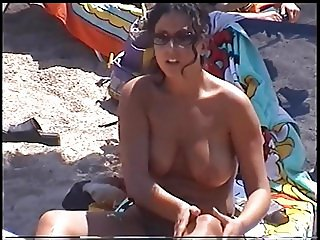 amazing girl on greek Beach