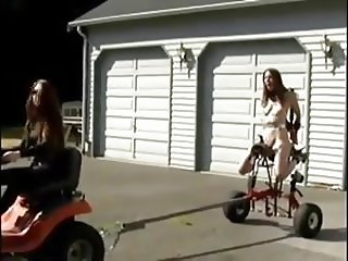 BDSM in driveway
