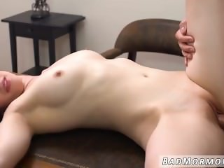 Czech party girl with glasses in hot anal