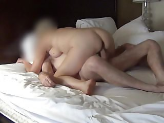 Mature Couple Fuck Mutual Masturbation POV