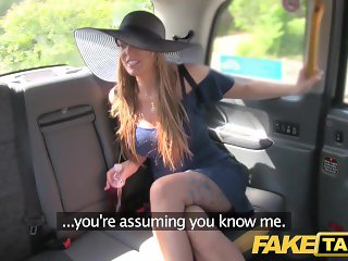 Fake Taxi Long legs tattoos and great tits