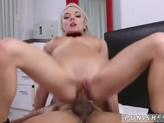Big dick hardcore anal and maid spanked