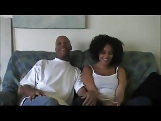 Sexy Ebony Makes Porn Debut With Husband At Home Debut.mp4