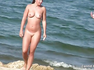 Nude Beach Horny Couples FIngering Beach Voyeur HD Video