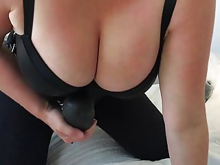 Mistress POV 14 - Anal pump + KINK Really big dick strapon.