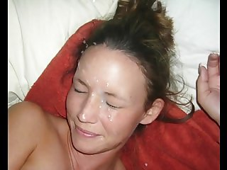 Jerkoff challenge facial 1
