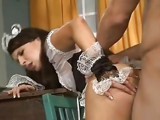 Fucking the maid in the ass