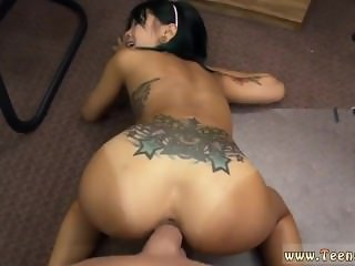 Tongue piercing blowjob and amateur wife
