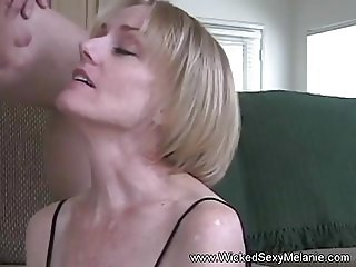 Grandma Just Loves The Taste Of Cum