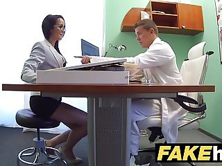 Fake Hospital Doctors thick dick stretches hot Portuguese