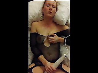 Real homemade wife has intense orgasms