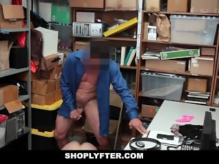 Shoplyfter - Sexy Teen Learns Lesson After Stealing