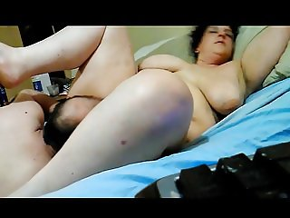 bbw gets pussy eaten and sits on face