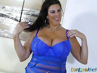 EuropeMaturE Busty Mature Lulu Lush and Huge Boobs