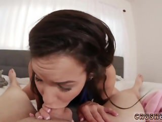 Pretty teen blowjob Money Hungry compeer's