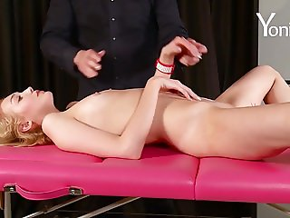 Yonitale Study: Anal study with tall young blonde Barbara Y