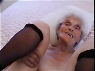 Very Old Granny Still Loves To Be Fucked - 90 Years Old