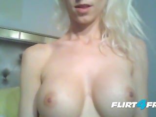 Beautiful Blonde With Big Tits Wants a Quivering Orgasm