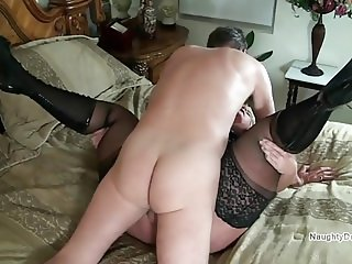 Getting stuck balls deep in a PAWG