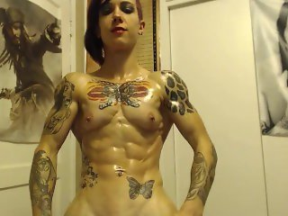 Amazing ripped girl nirvana