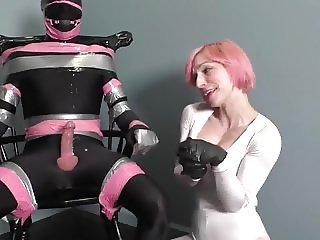 Devil Girl Christina ruins orgasm with only a touch