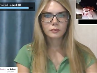 ChatRoulette - Russian Girls Big Cock Reactions 5