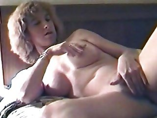 Your Ex-Wife Whore plays with her pussy