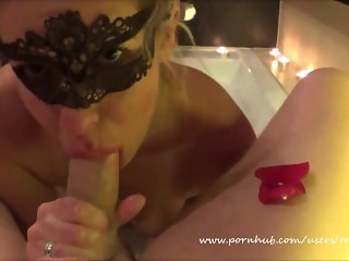 Romantic Compilation of BJ Cumshots Swallows and Facial with Kate Truu