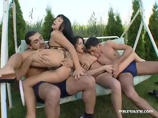 Private com - Michelle Wild DP Orgy With Cindy Cox