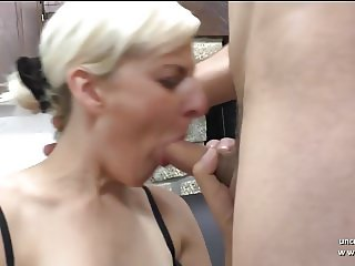 Amateur french milf hard analyzed and double penetrated