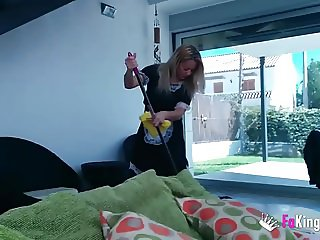I pay money a cleaning lady to have sex in my place