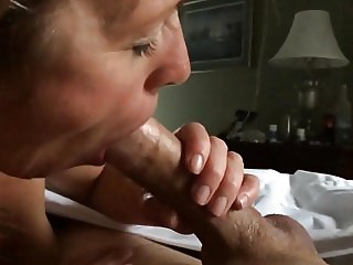 Mimi sucking my cock