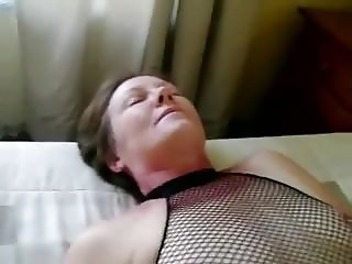 Horny wet pussy enjoying dildo
