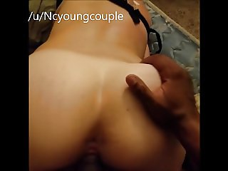 BBC fucking my wife from behind raw